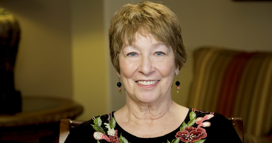 Geri the dental implant patient in Bellaire, TX