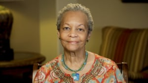 Gloria the dental implant patient in Bellaire, TX